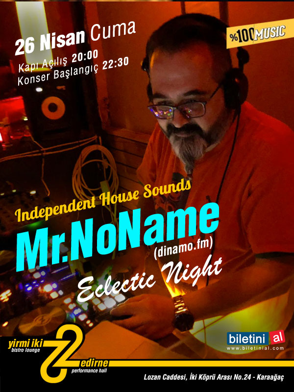 Mr. NoName - Independent House Sounds Night