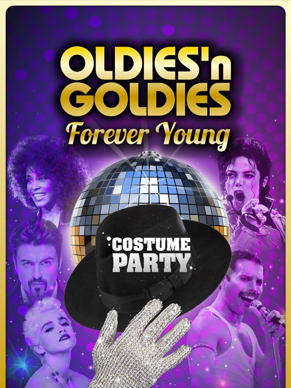 Oldies'n Goldies Forever Young Costume Party